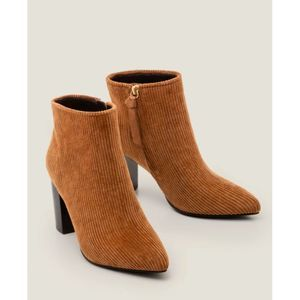 Boden Langley Ankle Boots Gingerbread Size 37